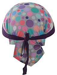 Xintown fasce di ciclismo all'aperto bici di bicicletta sport cappuccio cappello di bandana cappello di guida della lavanda delle donne