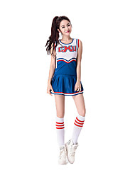 Cheerleader Costumes Career Costumes Cosplay Costumes Party Costume Female Festival/Holiday Halloween Costumes Halloween Carnival Solid