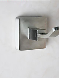"Robe Hook Contemporary Stainless Steel 5cm(1.97"") Robe Hook Wall Mounted"