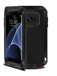cheap -Case For Samsung Galaxy Samsung Galaxy S7 Edge Shockproof Full Body Cases Armor Metal for S8 Plus S8 S7 edge S7 S6 edge plus