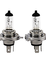 abordables -Lampes 130 / 100w de 2pcs h4 xencn P43t 12v 3200k emark off road série clair ampoule halogène de phare de voiture standard d'automobiles