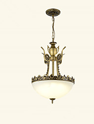 Chandelier ,  Modern/Contemporary Traditional/Classic Painting Feature for Mini Style Metal Living Room Bedroom Dining Room