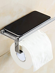 Toilet Paper Holder / Chrome Stainless Steel /Contemporary