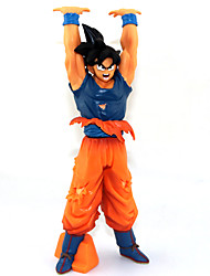 Figures Anime Action Inspiré par Dragon Ball Goku Anime Accessoires de Cosplay figure Orange PVC