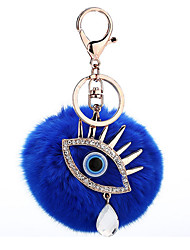 cheap -Toy Car / Key Chain Key Chain Eyes Plush / Metal 1 pcs Pieces Girls' Gift