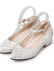 Cipők és hozzáillő táskák-Alacsony-Női cipő-Magassarkúak-Esküvői Alkalmi  Party és Estélyi-Glitter-Piros Fehér 696919fbf1