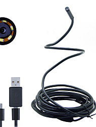 Joyshine 3.5m 7mm 6LED 2 in 1 Android Endoscope Waterproof Inspection Camera Micro USB Video Camera