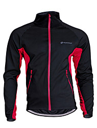 cheap -Nuckily Cycling Jacket Unisex Bike Jersey Top Fleece Bike Wear Thermal / Warm Windproof Breathable Patchwork Camping / Hiking Leisure