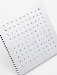 Contemporary Rain Shower Chrome Feature for  LED Rainfall , Shower Head