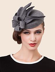 Mujer Diamantes Sintéticos Aleación Lana Celada-Boda Ocasión especial Casual Sombreros 1 Pieza
