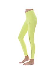 Yogabukser Cykling Tights Åndbart Hurtigtørrende Komprimering Ultralet stof Strækkende Sportstøj Dame Yokaland®Yoga Pilates Træning &