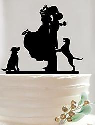 Недорогие -Аксессуары для тортов Акрил Свадебные украшения День рождения / Свадебные прием / День Святого Валентина Весна / Лето / Осень