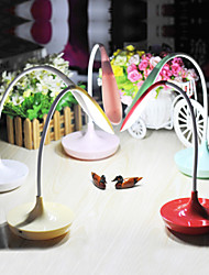 cheap -Modern / Contemporary Rechargeable / LED Desk Lamp For Plastic Red / Green / Pink