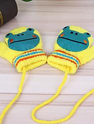 cheap -Girls' Boys' Gloves,Winter Cotton Yellow Fuchsia