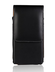 cheap -Genuine PU Cowhide Leather Flip Wallet Vertical Case Belt Clip Pouch Cover Jacket for iPhone 6