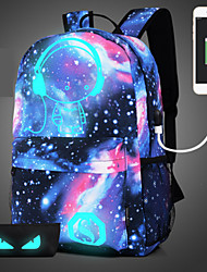cheap -Unisex Bags Polyester Backpack Sequin for Casual Sports Outdoor All Seasons Blue