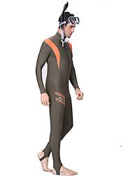 Men's Women's 1mm Dive Skins Wetsuit Skin Full Wetsuit Waterproof Thermal / Warm Quick Dry Ultraviolet Resistant Wearable Breathable