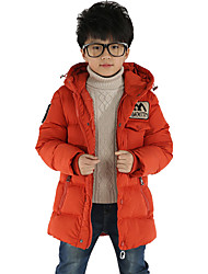 Boy's Clothes  Han Edition Fashion Tide In Long Camouflage Trench Coat