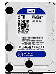 WD 2TB Desktop Hard Disk Drive 5400rpm SATA 3.0 (6Gb / s) 64MB nascondiglio 3.5 pollici-WD20EZRZ