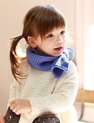 Девочки Мальчики Шарфы,Зима,Вязаная одежда,Синий Коричневый Зеленый Оранжевый