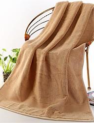 Недорогие -Свежий стиль Банное полотенце,Однотонный Высшее качество 100% хлопок Полотенце