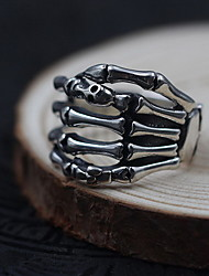 cheap -Men's Women's Ring Jewelry Personalized Sterling Silver Skull / Skeleton Jewelry For Daily Casual