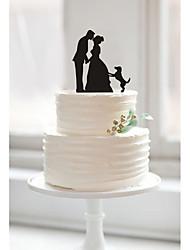 baratos -Festa de Casamento Acrílico Mistura de Material Decorações do casamento Tema Clássico Inverno Primavera Verão Outono Todas as Estações