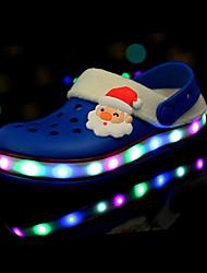 Per bambina-Pantofole e infradito-Casual-Comoda-Piatto-Gomma-Giallo Rosa Blu reale