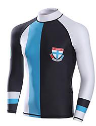 economico -Dive&Sail Per uomo 1mm Dive Skins Top muta Ompermeabile Tenere al caldo Asciugatura rapida Resistente ai raggi UV Indossabile Traspirante