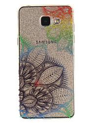 preiswerte -Hülle Für Samsung Galaxy A5(2016) / A3(2016) IMD / Transparent / Muster Rückseite Blume Weich TPU für A5(2016) / A3(2016) / A5