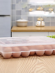 1pc 31.5*23*5.8 Kitchen Plastic Canning & Preserving Egg storage