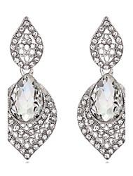 ieftine -Dame Cercei Picătură Cristal Cristal Bijuterii Pentru Nuntă Petrecere Zilnic