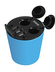 economico -caricabatteria per auto hasmine cinque porte presa caricabatteria da auto adattatore USB