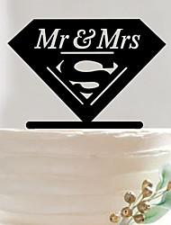 Anniversaire Saint Valentin Fête de Mariage Acrylique Décorations de Mariage Printemps Eté Automne Hiver