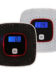 affichage LCD co monoxyde de carbone du détecteur d'alerte testeur de gaz empoisonnement du capteur d'alarme de gaz de fumée de la voix