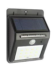 12 Напольный солнечной энергии беспроводной водонепроницаемый безопасности движения датчик ночные огни