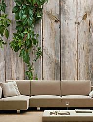 Недорогие -Цветочный принт Ар деко 3D Украшение дома Современный Облицовка стен, холст материал Клей требуется фреска, Обои для дома