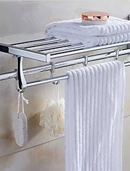 cheap -Bathroom Shelf Modern Stainless Steel 1 pc - Hotel bath Double