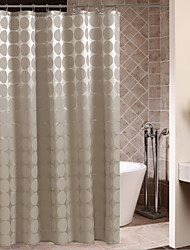 cheap -Shower Curtains Neoclassical Polyester Polka Dot Machine Made