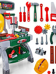 cheap -Tool Box Toy Tool Safety Novelty Plastic Boys' Kid's Gift