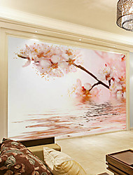 JAMMORY Art DecoWallpaper For Home Wall Covering Canvas Adhesive required Mural Mountain Maple XL XXL XXXL