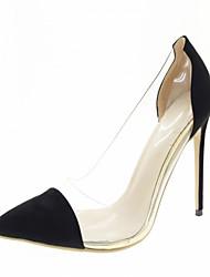 Femme Chaussures à Talons Confort Nouveauté A Bride Arrière Synthétique Similicuir Polyuréthane Printemps Eté Automne HiverMariage