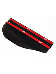 2 Pcs Universal Flexible PVC Car Accessories Rearview Mirror Rain Shade Rainproof Blades Car Back Mirror Eyebrow Rain Cover