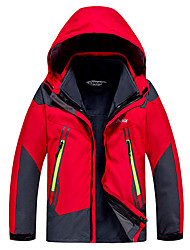 Men's Women's Kid's Hiking Softshell Jacket Waterproof Thermal / Warm Windproof Insulated Comfortable Top for Camping / Hiking Snowsports