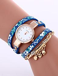 ieftine -Pentru femei Ceas Brățară Ceas La Modă Quartz Ceas Casual Piele Bandă Elegant Negru Albastru Gri