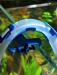 cheap -Blue Fish Aquarium Filtration Water Pipes Filter Hose Holder For Mount Tube Tank Accessories