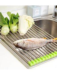 Недорогие -сушилка для овощей свернуть мойку из нержавеющей стали сушилка для белья складной держатель кухня