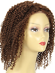 cheap -Malaysian Afro Kinky Curly Virgin Hair wig 180 density Front #4 Human Hair Color Kinky Curly Weave Human Hair wig Natural Hairline