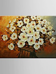 Hand Painted Canvas Oil Painting thick Flowers Painting Wall Art with Stretched Framed Ready to Hang