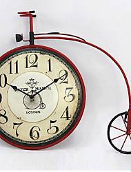 Недорогие -Ретро Прочее Настенные часы,Прочее Железо 45*36*5*1 В помещении Часы